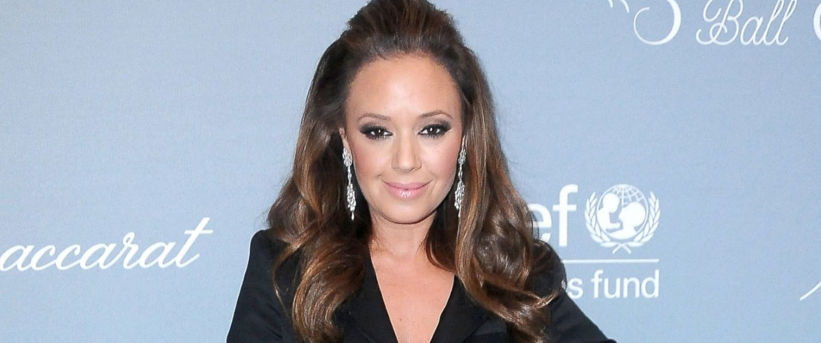 PHOTO: Leah Remini attends the 2014 UNICEF Ball presented by Baccarat, Jan. 14, 2014, at Regent Beverly Wilshire Hotel in Beverly Hills, Calif.