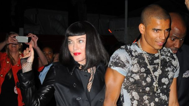 PHOTO: Madonna and Brahim Zaibat attend the PUNK: Chaos To Couture Costume Institute Gala after party in this May 6, 2013, file photo.