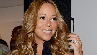 PHOTO:Mariah Carey attends the Project Canvas Charity Event Hosted By Nick Cannon at The Opera Ballroom at Crest, May 11, 2012, in New York City.
