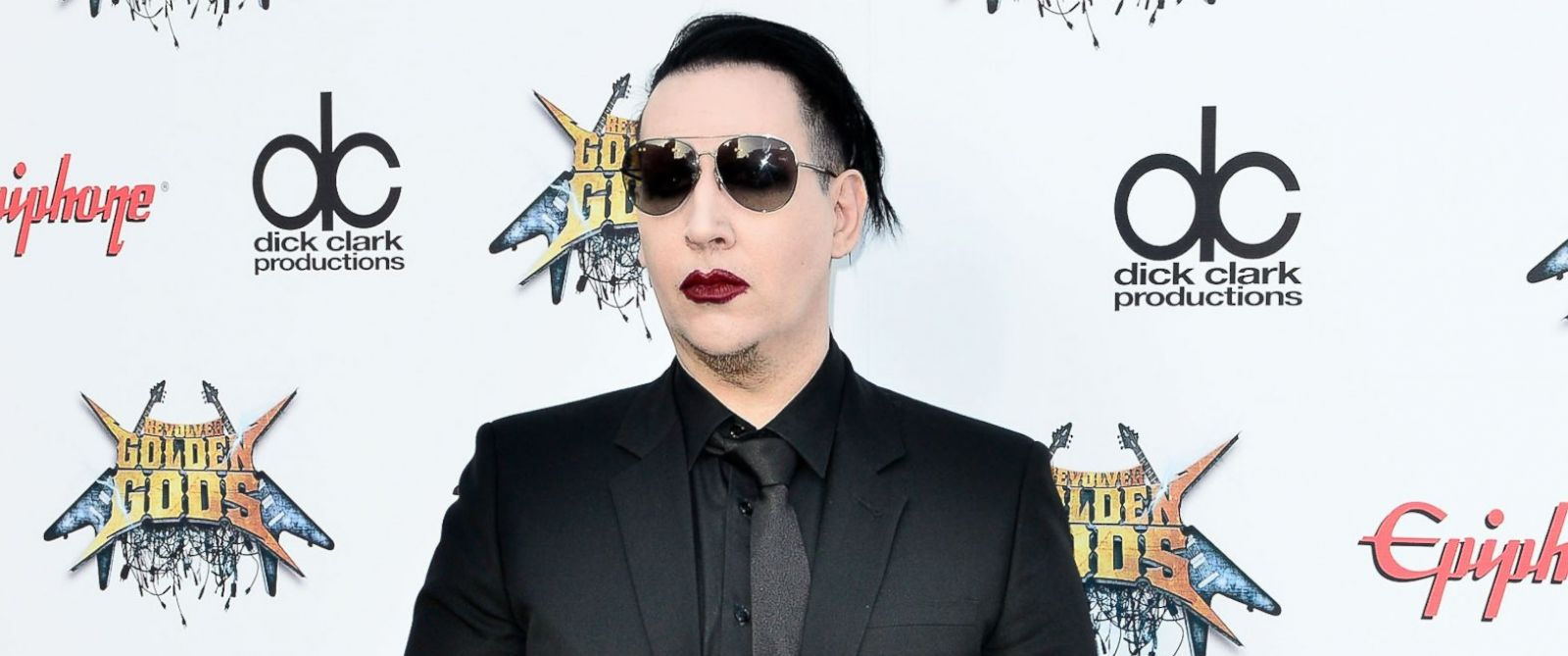PHOTO: Marilyn Manson is pictured on April 23, 2014 in Los Angeles.