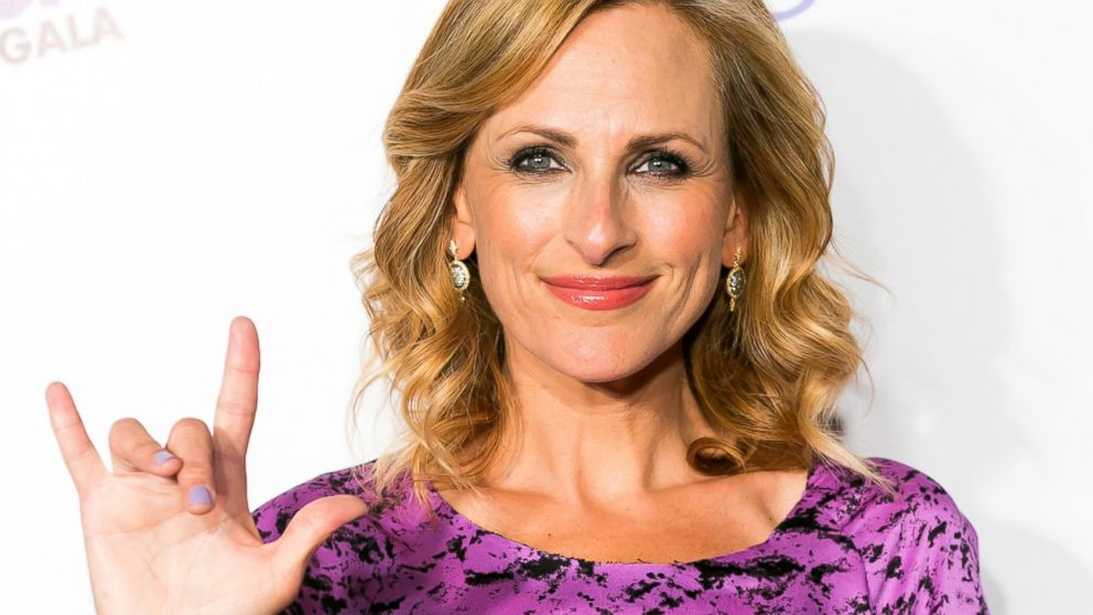 Marlee Matlin talking