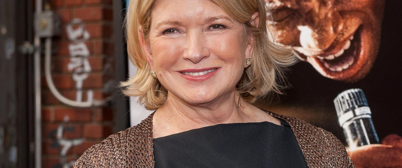 """PHOTO: Martha Stewart attends the """"Get On Up"""" premiere at The Apollo Theater,July 21, 2014, in New York."""