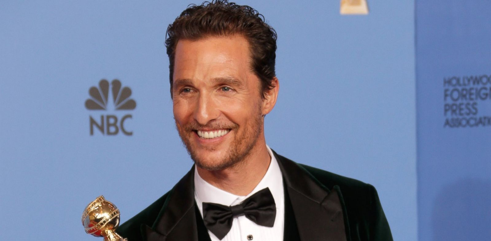 PHOTO: Matthew McConaughey is pictured during the 71st Annual Golden Globe Awards held at the Beverly Hilton Hotel on Jan. 12, 2014 in Beverly Hills, Calif.