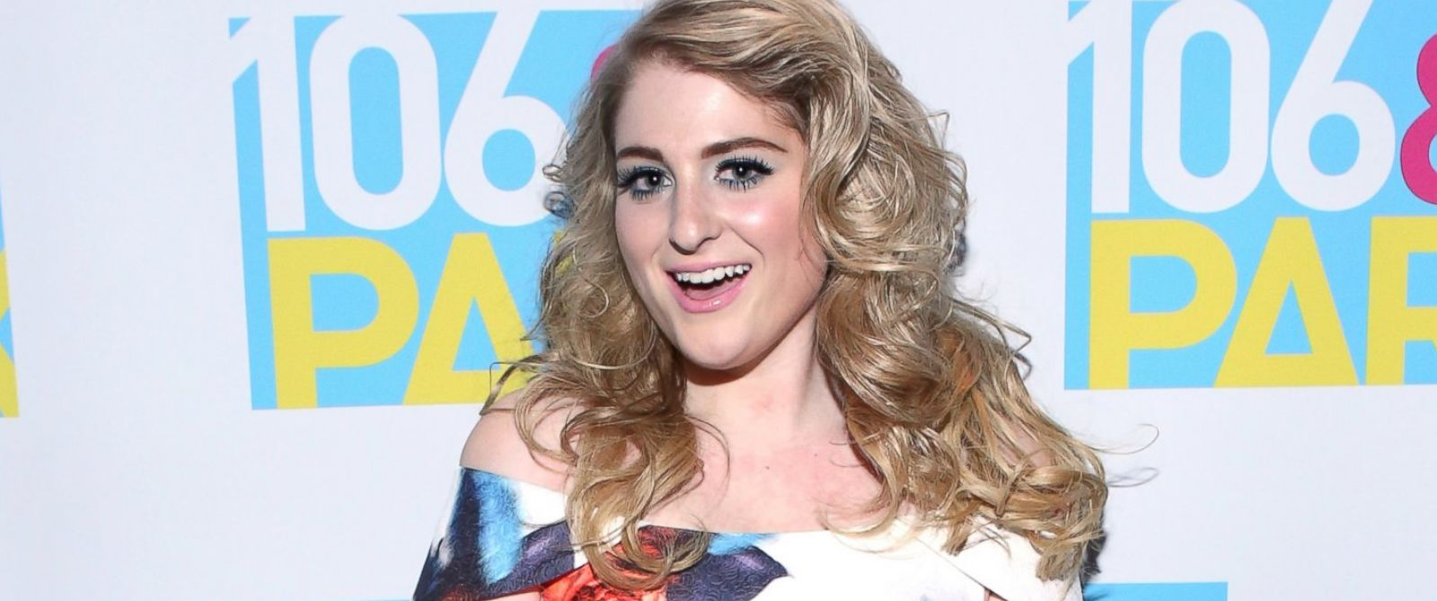 PHOTO: Recording artist Meghan Trainor visits 106 & Park at BET studio, Aug. 6, 2014, in New York City.