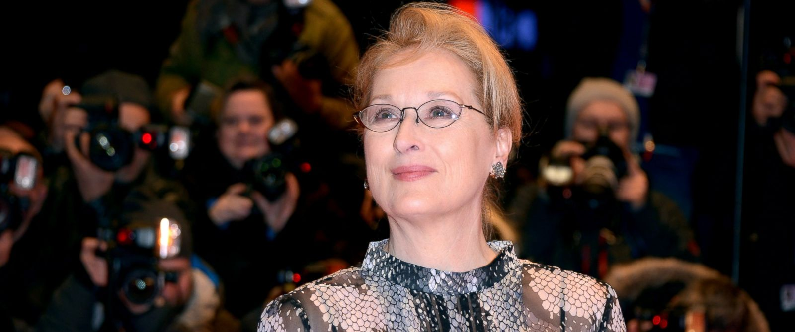 PHOTO: Meryl Streep attends the Hail, Caesar! premiere during the 66th Berlinale International Film Festival Berlin at Berlinale Palace, Feb. 11, 2016, in Berlin.