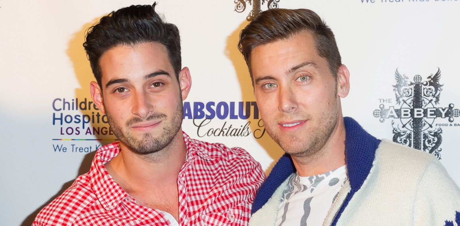PHOTO: Actor Michael Turchin and singer Lance Bass