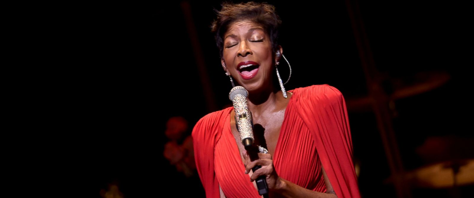 PHOTO: Natalie Cole performs atJazz 91.9 WCLK 41st Anniversary Benefit Concert at Cobb Energy Performing Arts Center, June 26, 2015, in Atlanta.