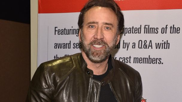 "PHOTO: Nicolas Cage attends the 2013 Variety Screening Series of ""The Croods"" in Hollywood, Calif."