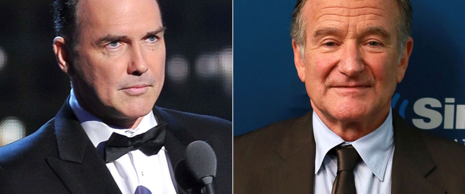 PHOTO: Norm MacDonald in New York City, April 28, 2012. | Robin Williams in New York City, Sept. 25, 2013.