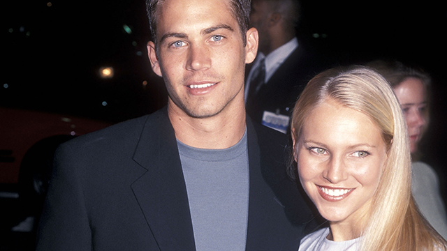 "PHOTO: Actor Paul Walker and date Bliss Ellis attend the ""Pleasantville"" Westwood Premiere on Oct. 19, 1998 in Westwood, Calif."