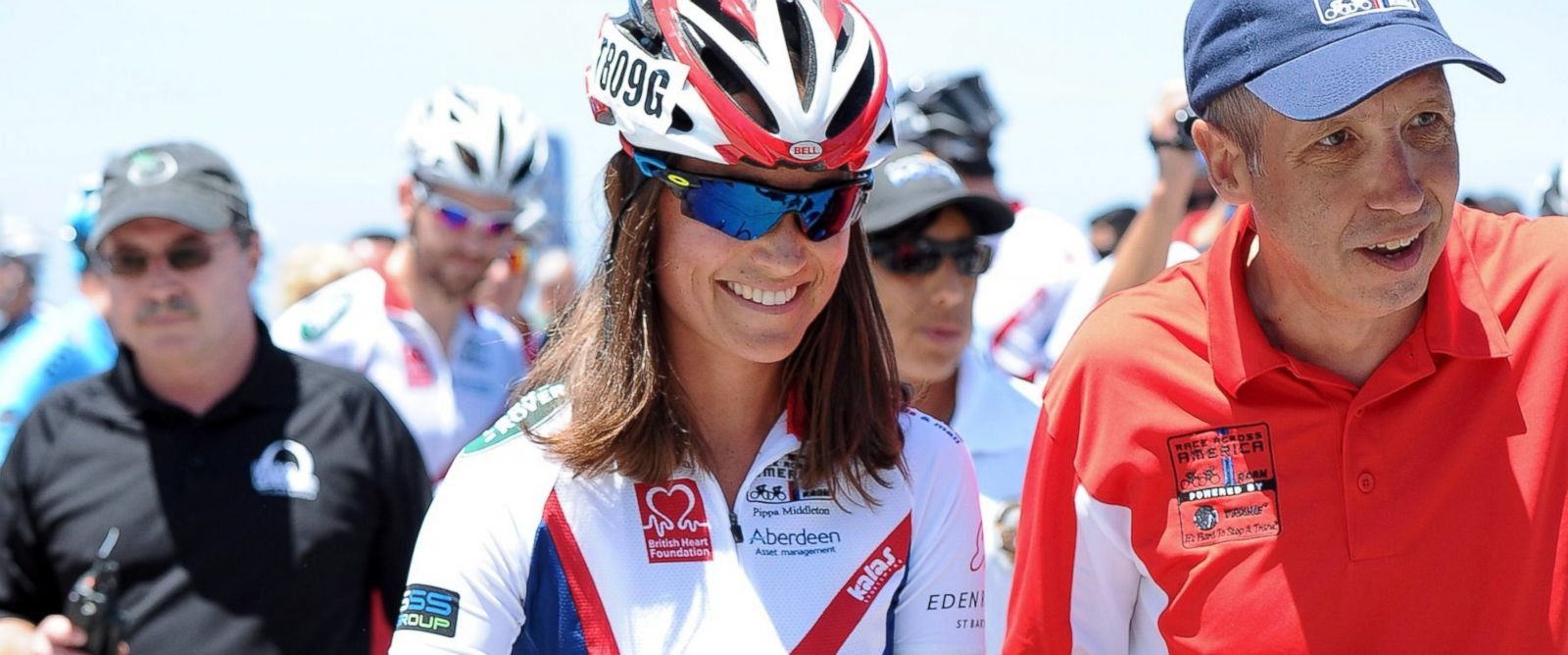 PHOTO: Pippa Middleton is seen at the Race Across America event on June 14, 2014 in San Diego, Calif.