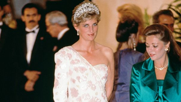 PHOTO: Princess Diana during an official visit to Brazil