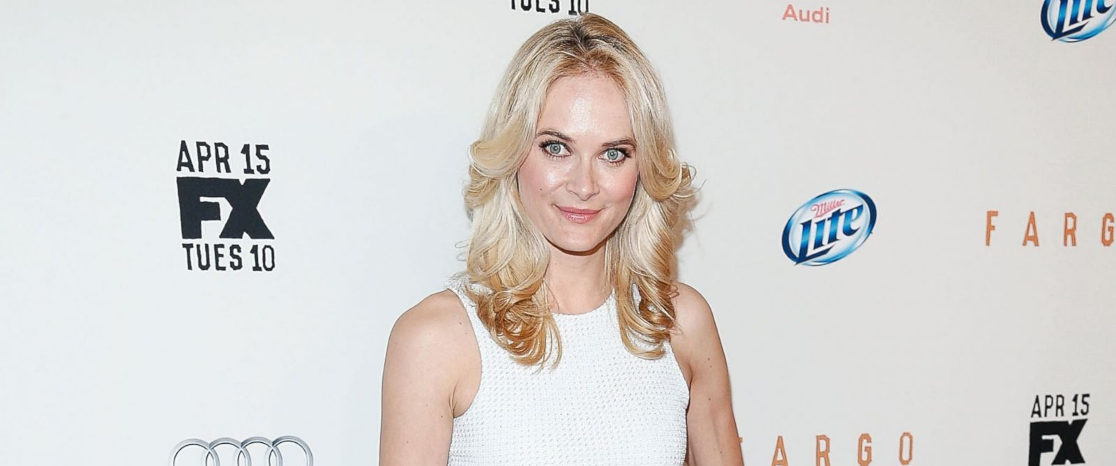 "PHOTO: Actress Rachel Blanchard attends the FX Networks Upfront screening of ""Fargo"" at SVA Theater on April 9, 2014 in New York City."