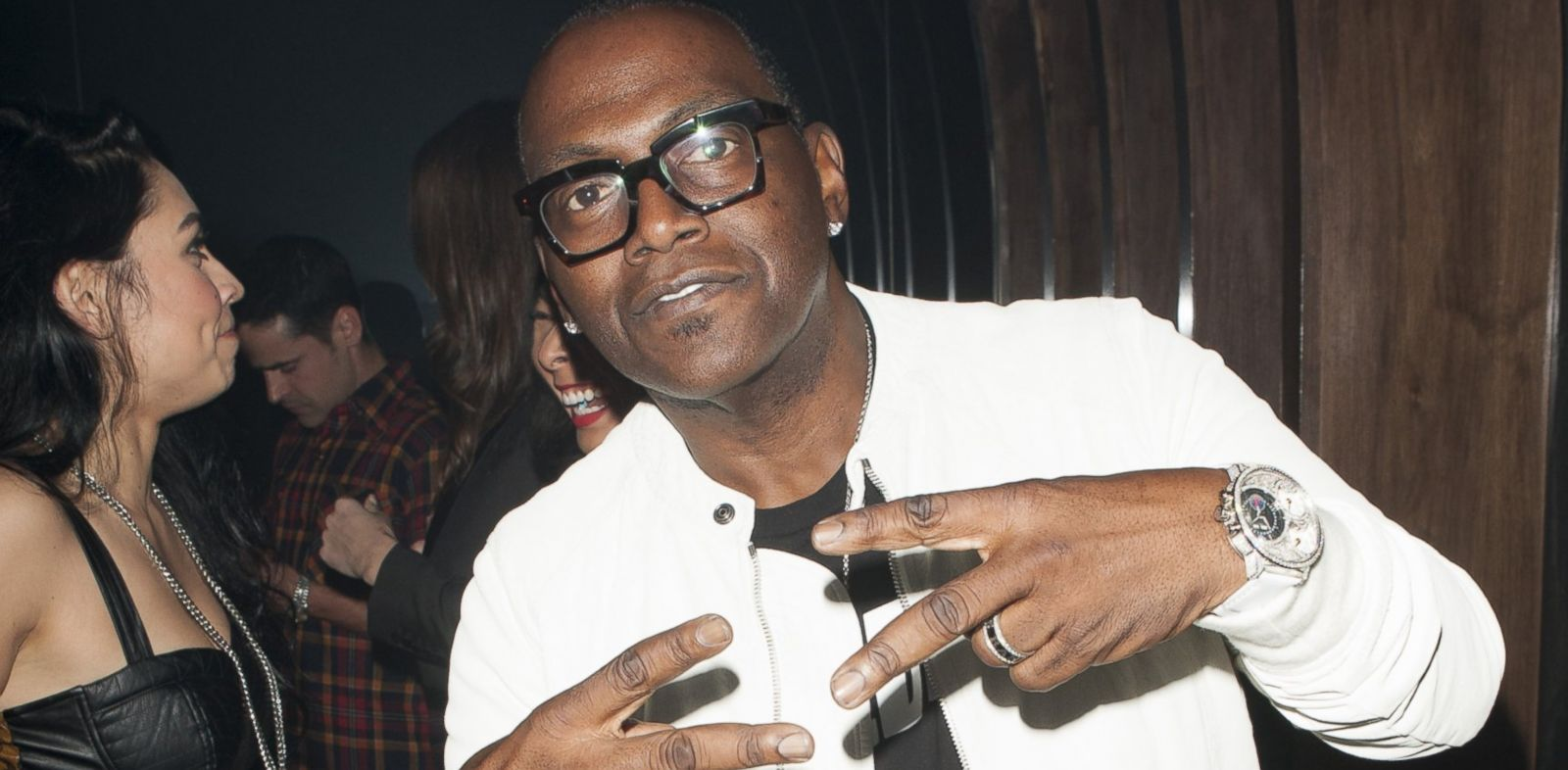 PHOTO: Randy Jackson attends the 1 OAK LA Grand Opening, Jan. 23, 2014, in West Hollywood, Calif.