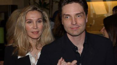 PHOTO: In this May 20, 2002 file photo Richard Marx and his wife Cynthia Rhodes attend the 19th Annual ASCAP Pop Music Awards in Beverly Hills, Calif.