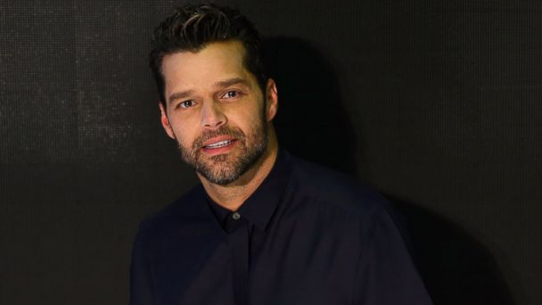 PHOTO: Ricky Martin poses during a media call with Ricky Martin at Westfield Hurstville, July 17, 2014 in Sydney.