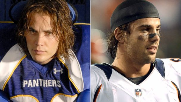 PHOTO: Tim Riggins in Friday Night Lights and Denver Broncos wide receiver, Eric Decker.