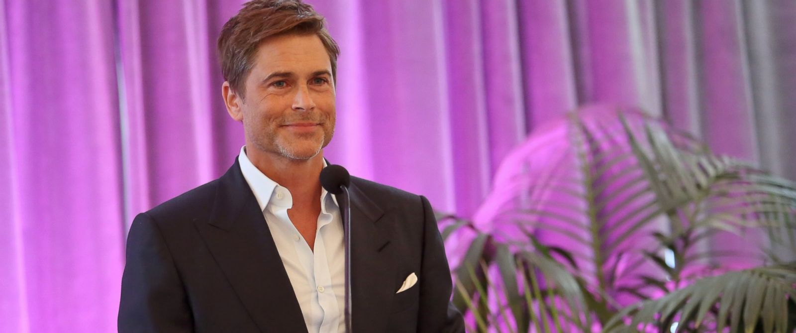 PHOTO: Actor Rob Lowe attends the Get In Touch Foundations 2014 Pretty In Pink Luncheon and Women of Strength Awards at the Casa del Mar Hotel, March 16, 2014 in Santa Monica, Calif.