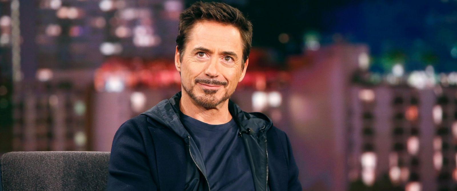 "PHOTO: Robert Downey Jr. appears on ""Jimmy Kimmel Live,"" Nov. 24, 2015."