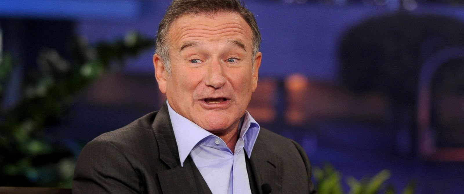 "PHOTO: Robin Williams is pictured on the ""Tonight Show With Jay Leno"" on Nov. 16, 2011 in Burbank, Calif."