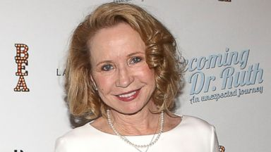 "PHOTO: Debra Jo Rupp attends the Off Broadway opening night After Party for ""Becoming Dr. Ruth"" at The Westside Theatre in this Oct. 29, 2013, file photo in New York City."