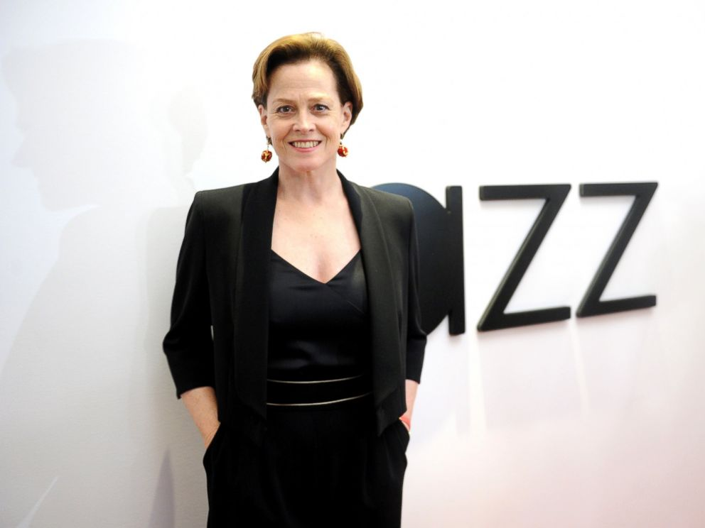 PHOTO: Sigourney Weaver attends the opening of the Mica and Ahmet Ertegun Atrium at Jazz at Lincoln Center, Dec. 17, 2015, in New York City.