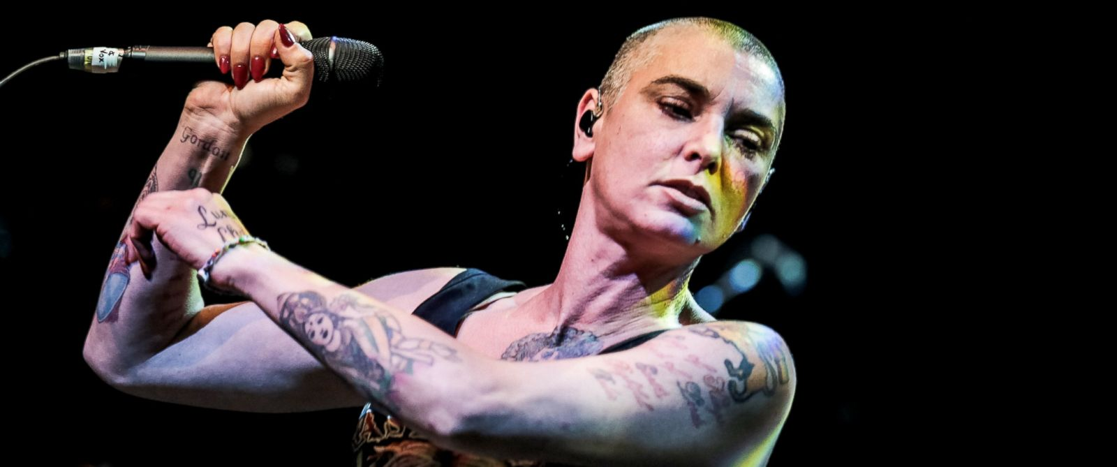 PHOTO: Sinead OConnor performs on stage at The Roundhouse, Aug. 12, 2014, in London.
