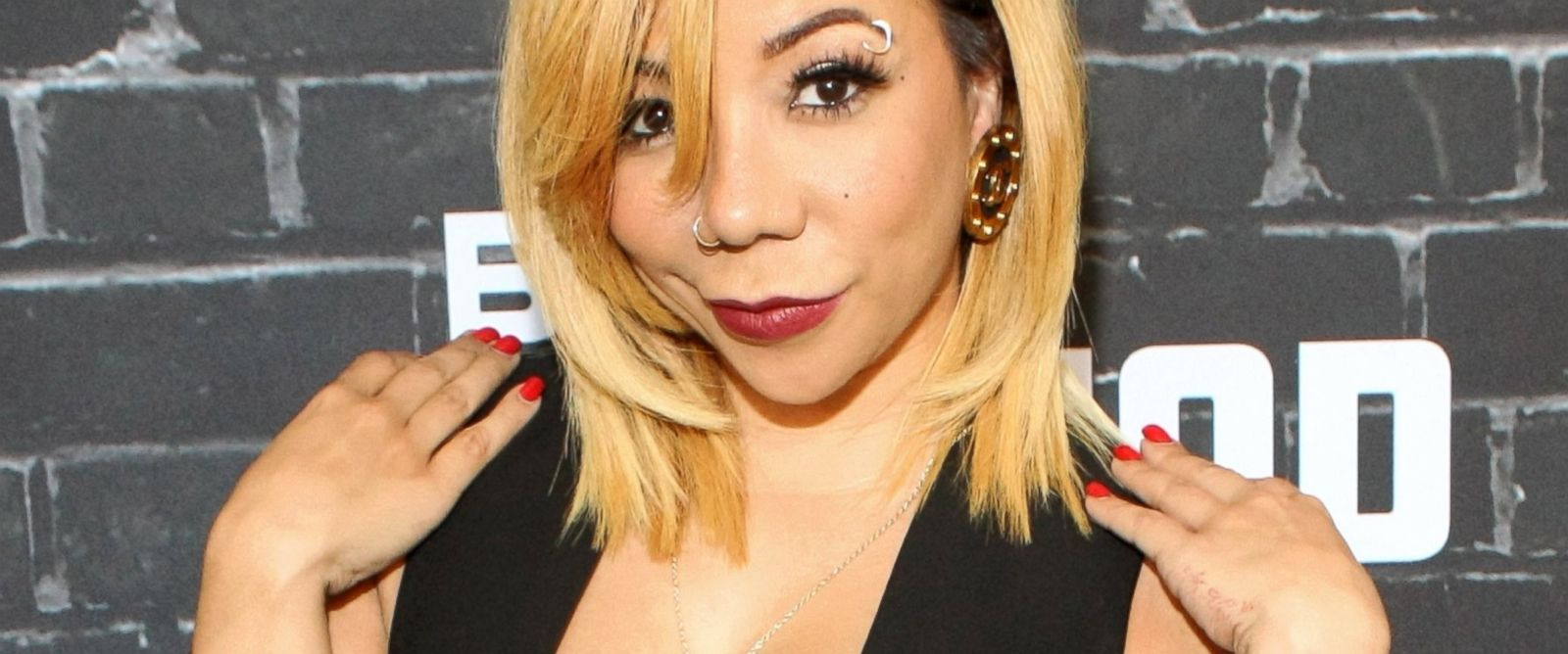 "PHOTO: Tameka ""Tiny"" Harris attends the BET Hip Hop Awards 2014 presented by Sprite at Boisfeuillet Jones Atlanta Civic Center, on Sept. 20, 2014, in Atlanta."