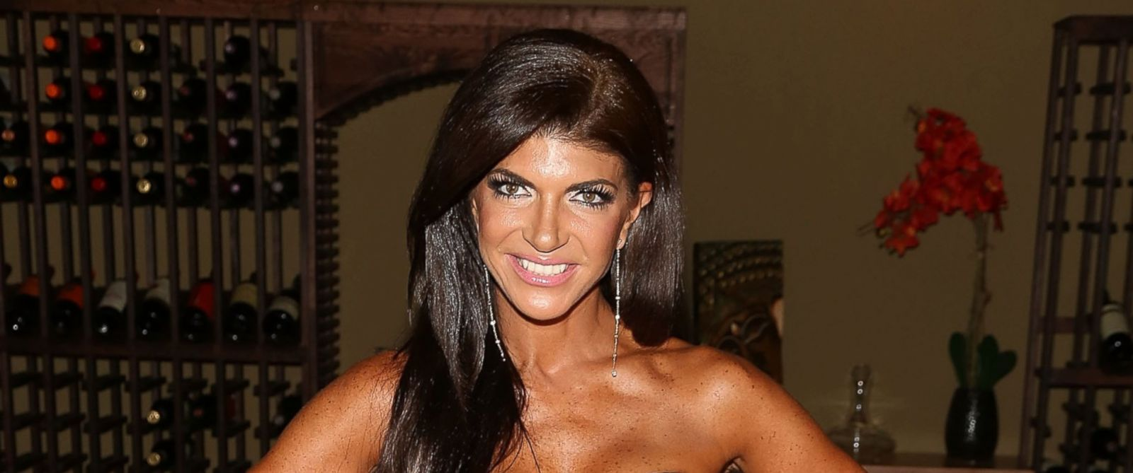 """PHOTO: Teresa Giudice attends the """"Real Housewives Of New Jersey"""" Season Six Premiere Party, July 13, 2014 in Parsippany, N.J."""