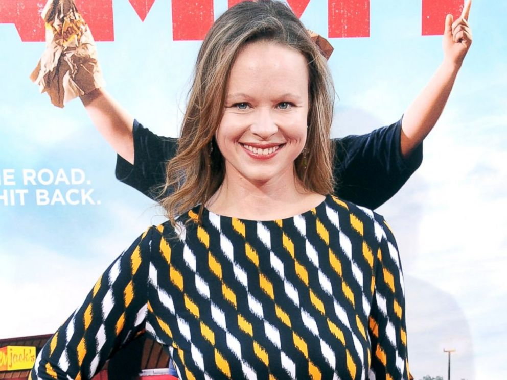 PHOTO: Thora Birch arrives at the premiere of Tammy at TCL Chinese Theatre, June 30, 2014, in Hollywood, California.
