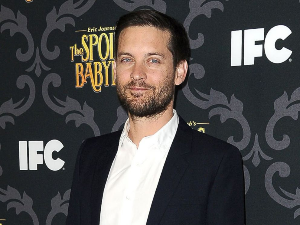 PHOTO: Actor Tobey Maguire attends the premiere of IFCs The Spoils Of Babylon at DGA Theater in this Jan. 7, 2014, file photo in Los Angeles, Calif.