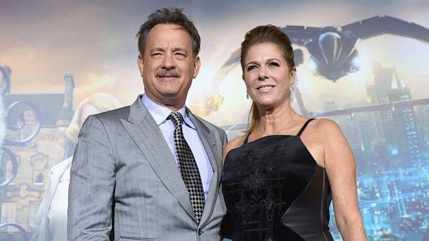 PHOTO: Tom Hanks and Rita Wilson