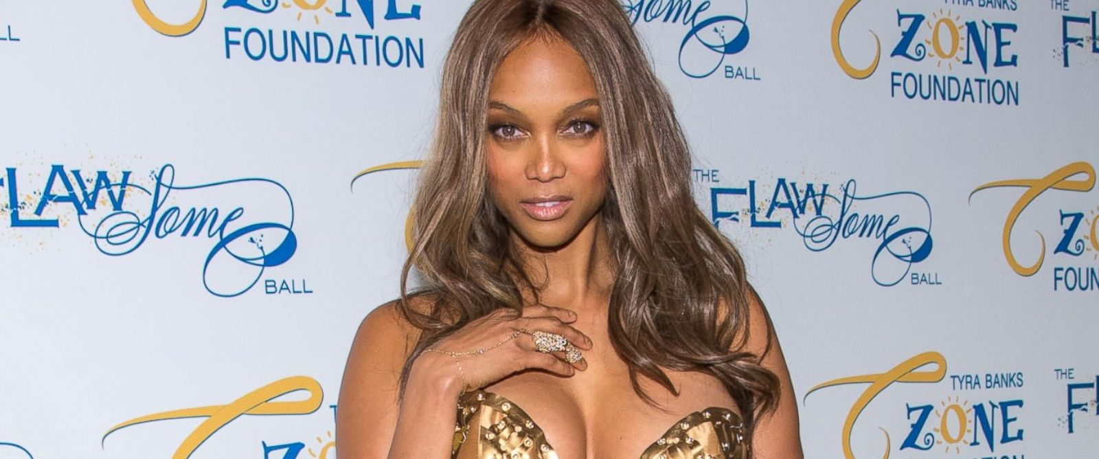 PHOTO: Tyra Banks attends Tyra Banks Flawsome Ball 2014 at Cipriani Wall Street on May 6, 2014 in New York City.