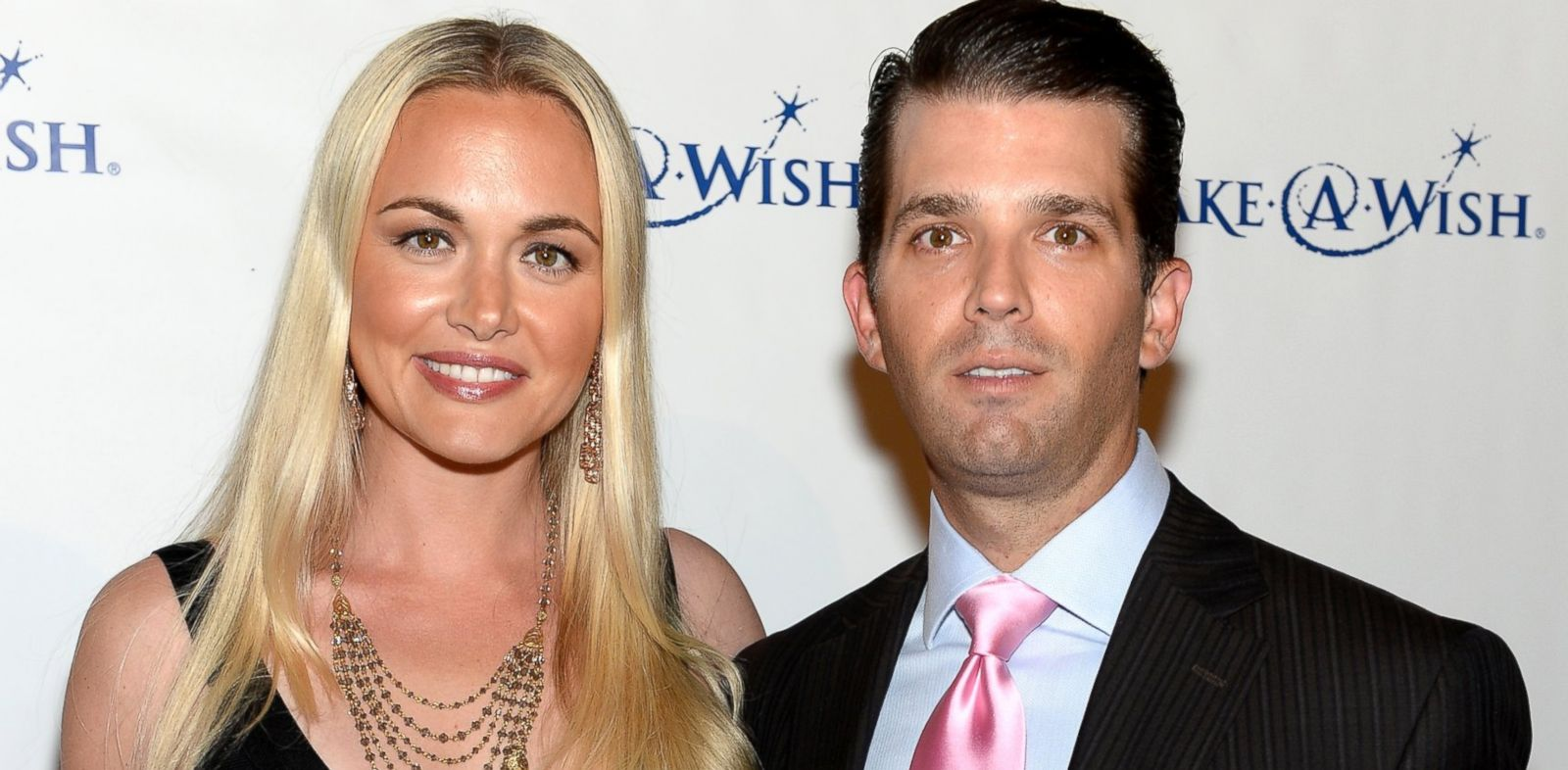 """PHOTO: Vanessa Trump and Donald Trump Jr. attend """"An Evening of Wishes"""", Make-A-Wish Metro New Yorks 30th Anniversary Gala at Cipriani, Wall Street, June 13, 2013, in New York City."""