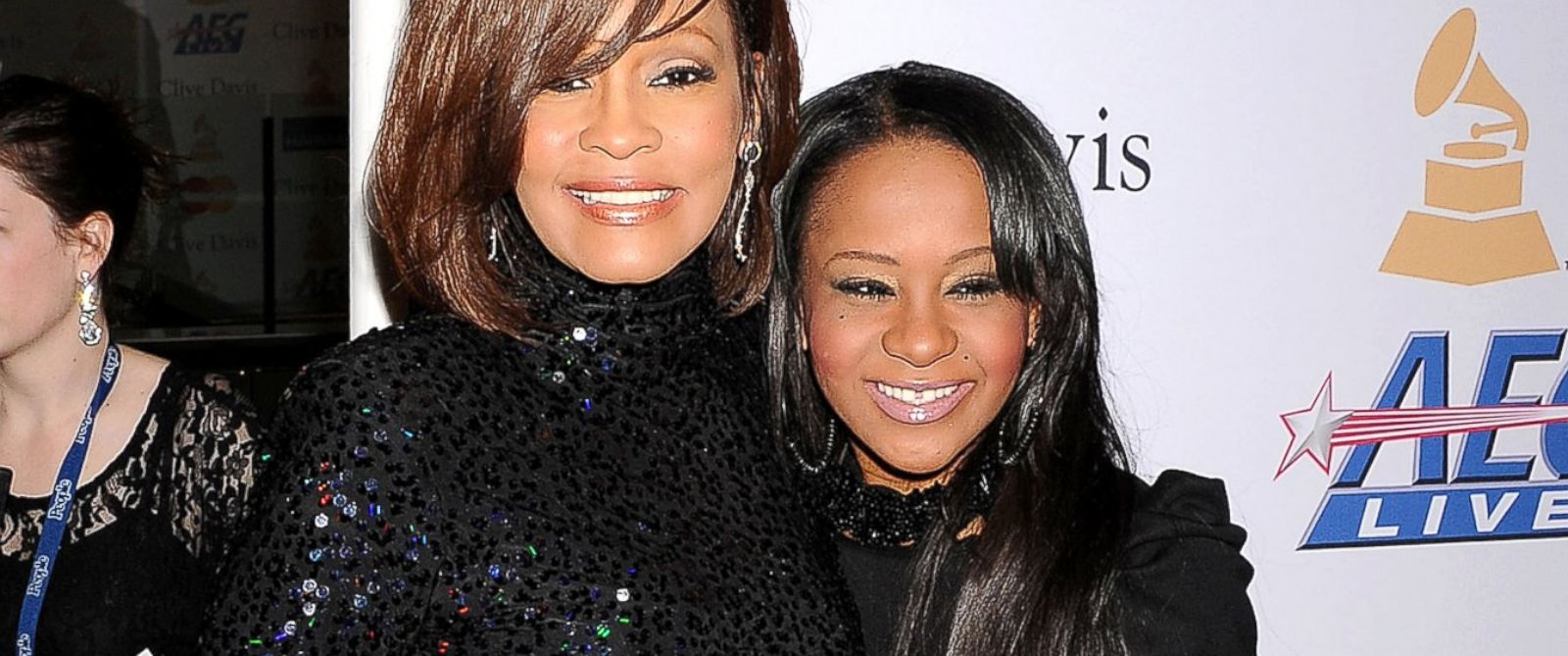 PHOTO: Whitney Houston and Bobbi Kristina Brown arrive at the Clive Davis And The Recording Academys 2011 Pre-GRAMMY Gala at The Beverly Hilton hotel, Feb. 12, 2011, in Beverly Hills, Calif.