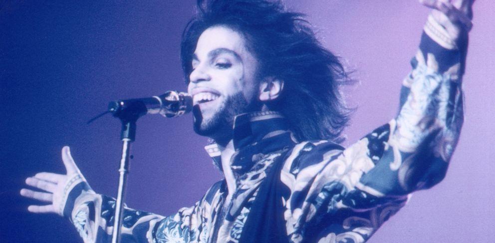 PHOTO: Prince performing at Wembley, London, Aug. 22, 1990.