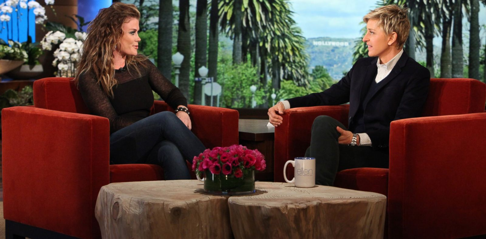 "PHOTO: """"Days of Our Lives"" actress and ""The Biggest Loser"" host Alison Sweeney makes an appearance on ""The Ellen DeGeneres Show"", Jan. 21 2014."