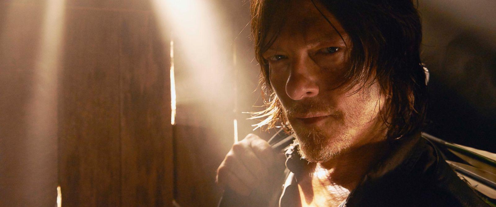 "PHOTO: Norman Reedus is seen playing Daryl Dixon in ""The Walking Dead"" season 5."
