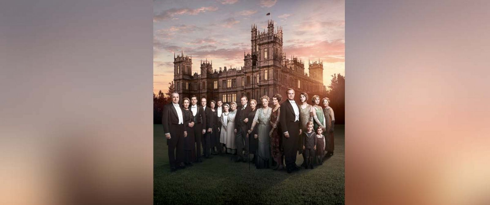 "PHOTO: The cast of ""Downton Abbey"" is pictured in this undated photo."