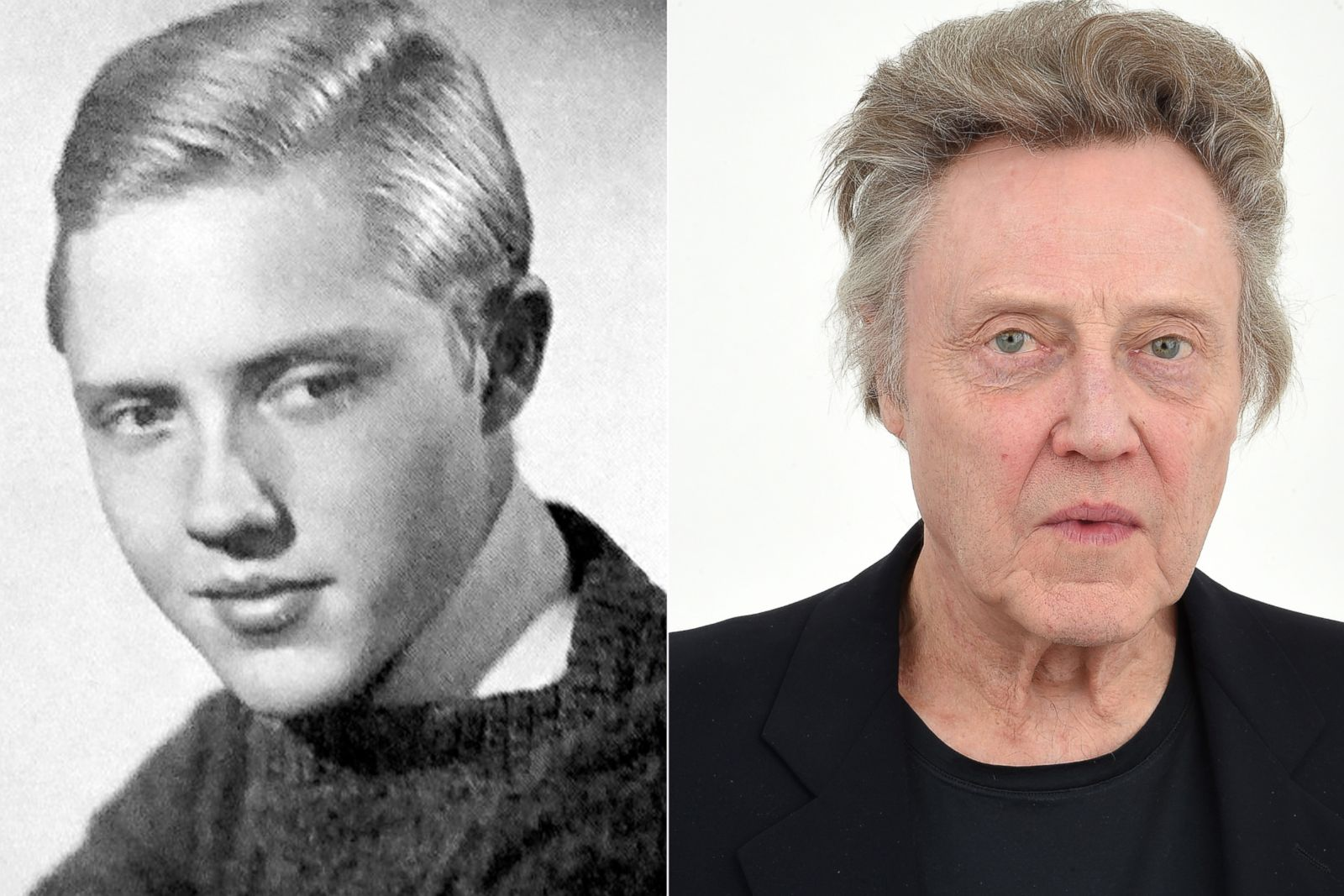Christopher Walken Picture Before They Were Famous Abc