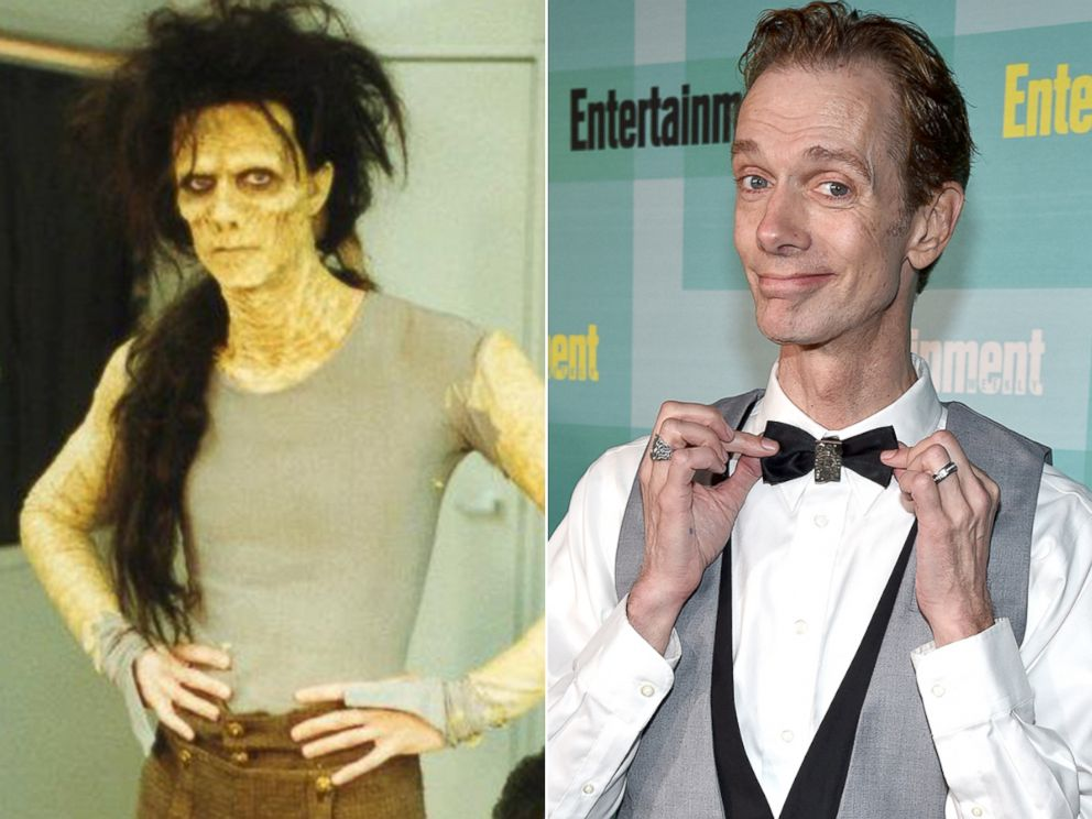 PHOTO: Doug Jones on the set of Hocus Pocus and, right, at Comic Con in San Diego, July 11, 2015.