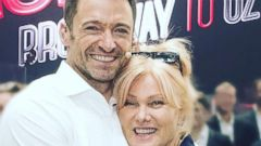 Hugh Jackman Shares a Sweet Selfie With His Wife