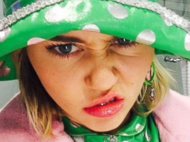 Miley Cyrus Snaps a Selfie Wearing a Diamond Ring on That Hand