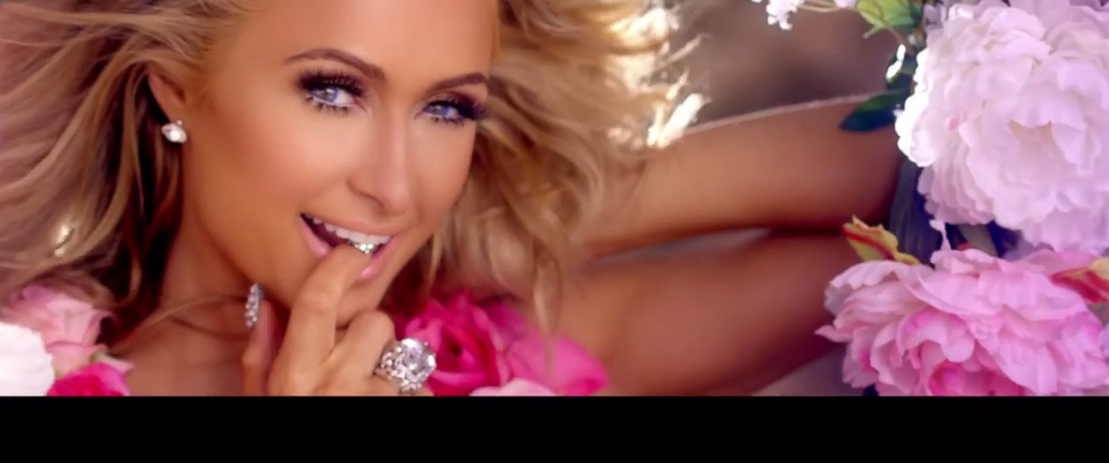"PHOTO: Paris Hilton seen here in her new video posted to YouTube, ""Come Alive."""