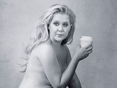 PHOTO: In an undated photo, Amy Schumer poses semi-nude for the new 2016 Pirelli Calendar.