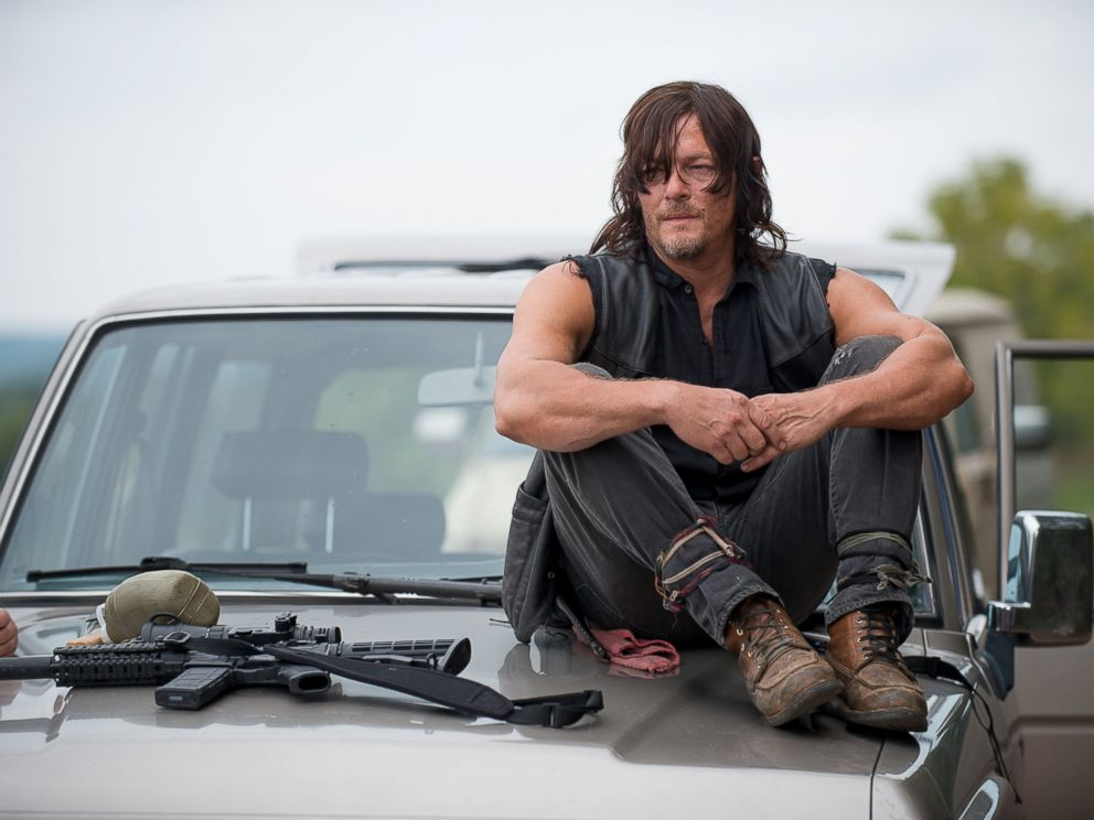 PHOTO: Norman Reedus as Daryl Dixon on Season 6 of The Walking Dead.