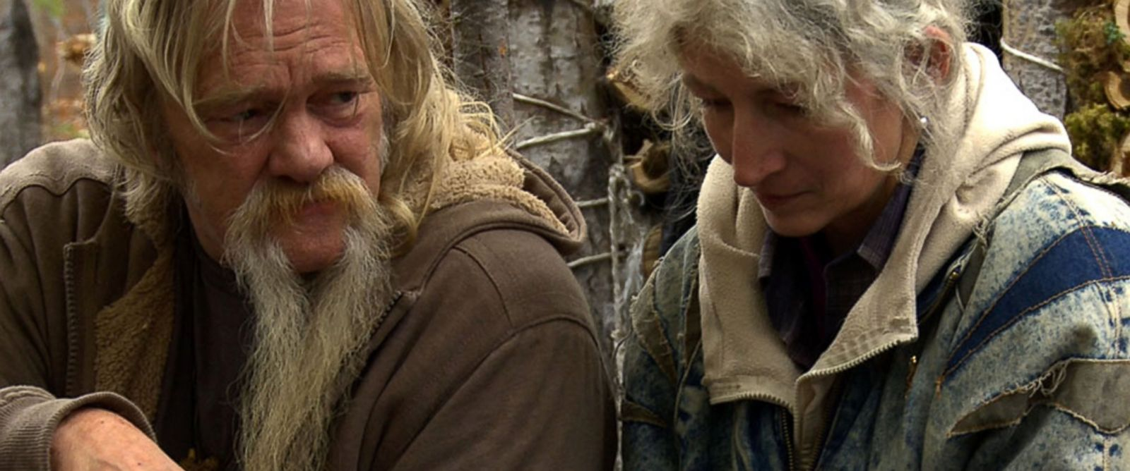 """PHOTO:Billy and Ami are pictured in a scene from """"Alaskan Bush People."""""""