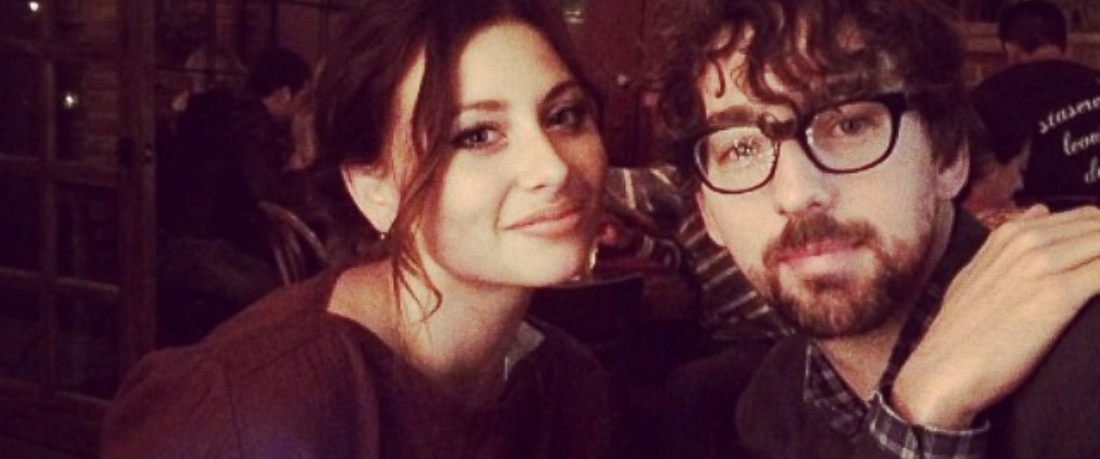 PHOTO: Aly Michalka posted this photo of herself and then-fiance Stephen Ringer to Instagram