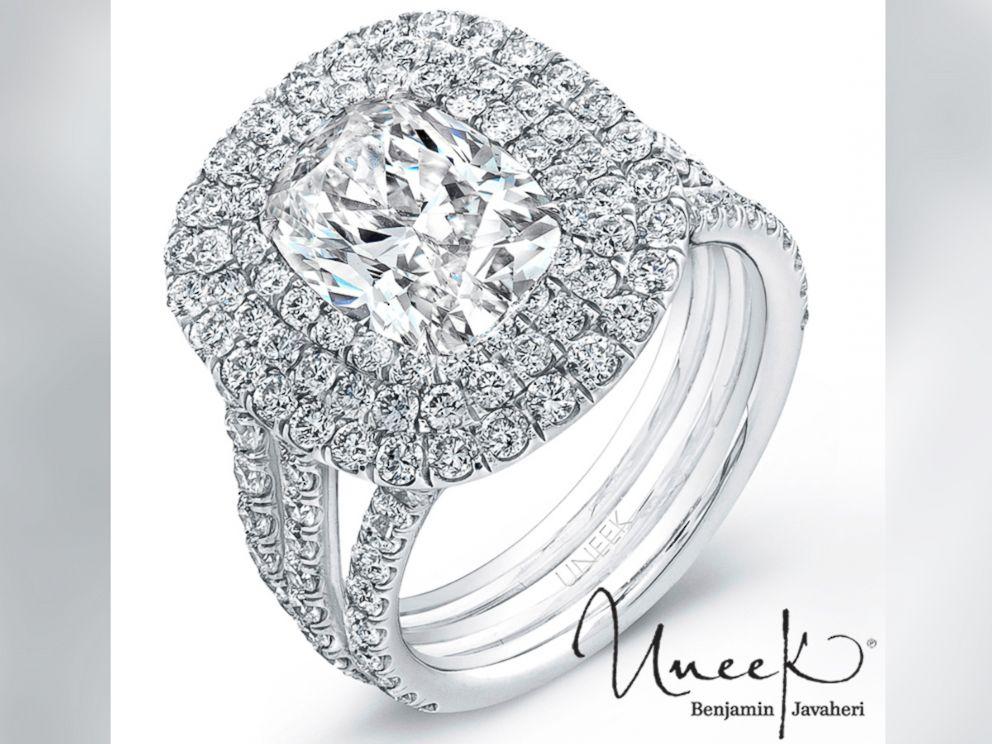PHOTO: An engagement ring by Uneek by Benjamin Javaheri.