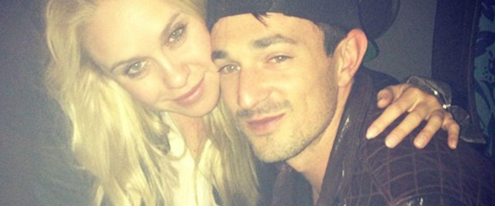 PHOTO: Glee actress Becca Tobin shared this image of herself and boyfriend Matt to her Instagram account, Aug. 3, 2014.